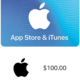 $100iTunes GIFT CARD