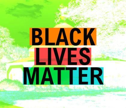 Westminster UU Black Lives Matters Banner