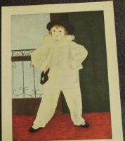 PIERROT WITH MASK PRINT