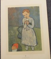 CHILD WITH A DOVE PRINT