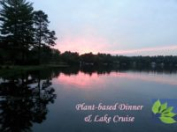 3-COURSE PLANT-BASED DINNER AND LAKE CRUISE