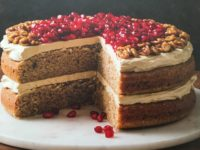 WALNUT POMEGRANATE LAYER CAKE